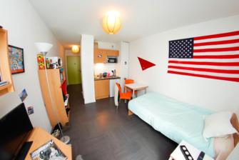 Resilogis cote rambla logement tudiant montpellier for Chambre etudiante montpellier