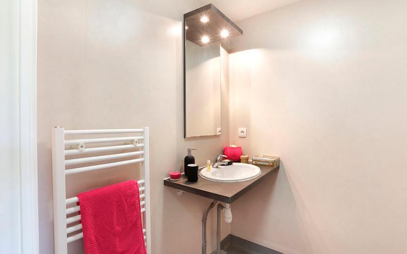 studio salle d'eau