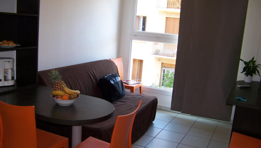 Appartement T2 - Coin salon