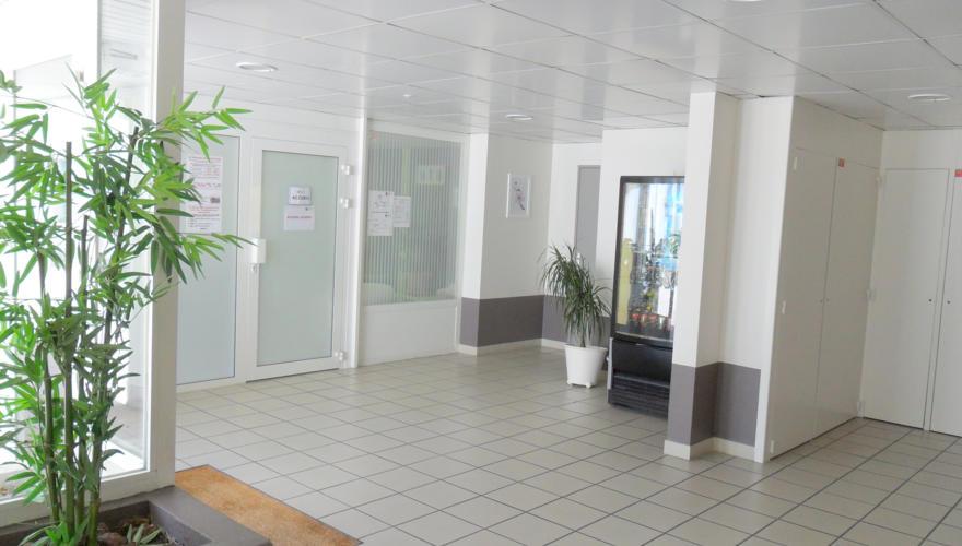 Hall de la résidence
