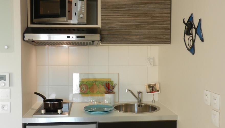 Appartement meublé - Coin kitchenette