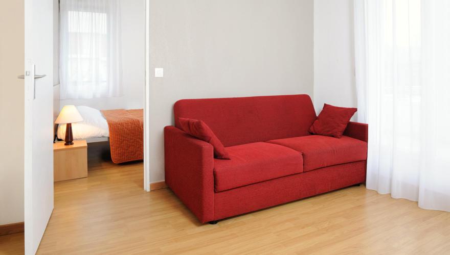 T2 salon et chambre