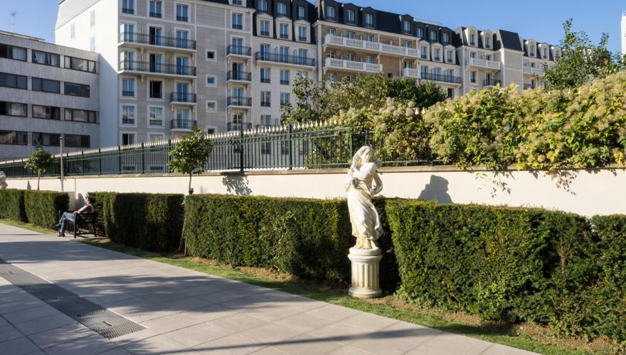 Vue Jardin des Camélias