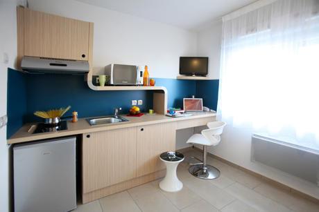 Appartement - Coin cuisine / bureau
