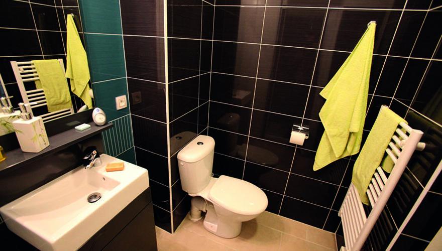 Salle de bain vue 1
