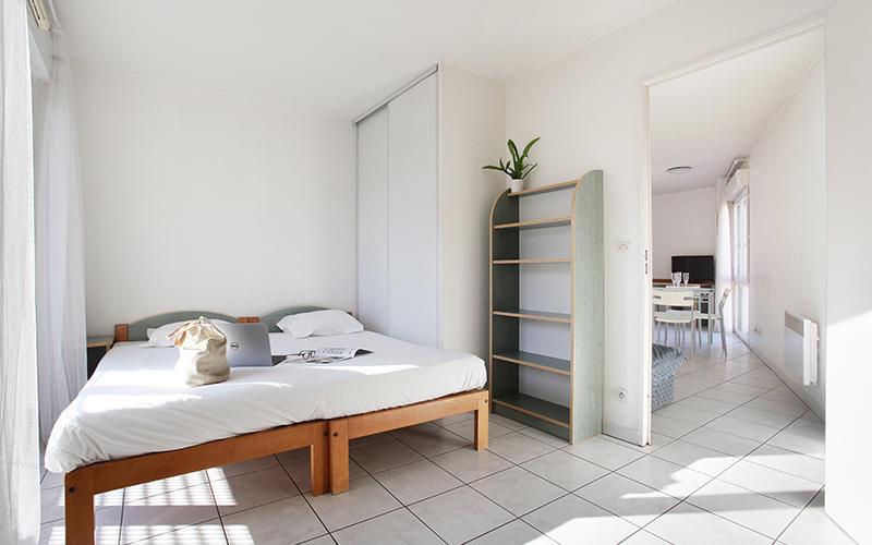 Chambre T3 avec balcon