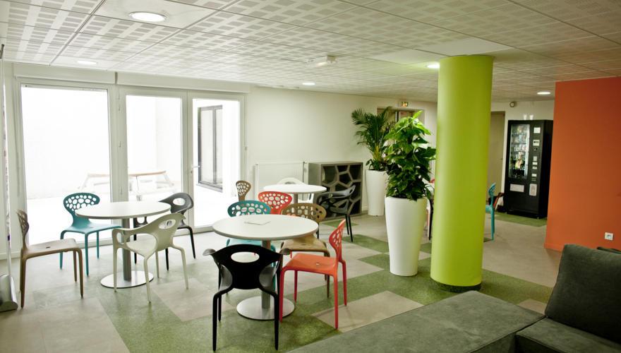 Salle lounge