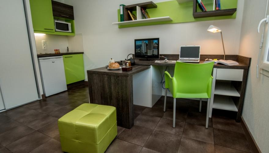Studio Pièce Principale et cuisine