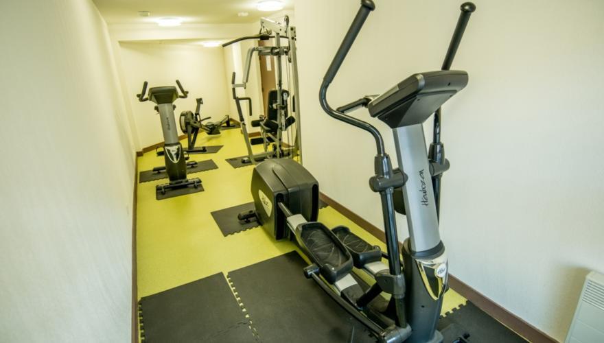 Partie Commune : Salle de Fitness