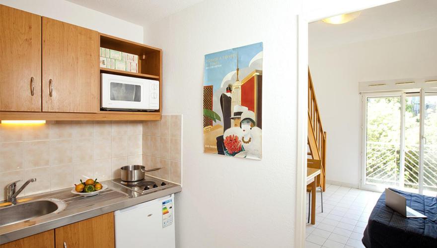 Appartement T1 Bis - Cuisine