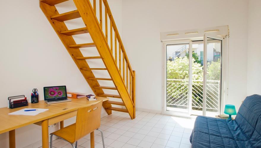Appartement T1Bis  - Sèjour et Mezzanine
