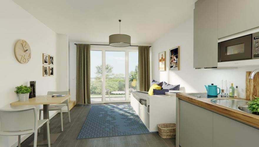 Bordeaux - Appartement T3 Duplex - Séjour