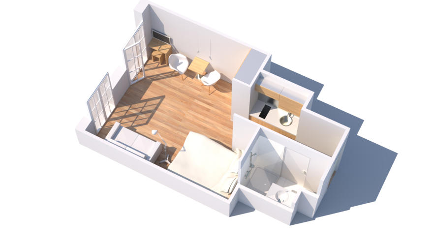 Plan type appartement