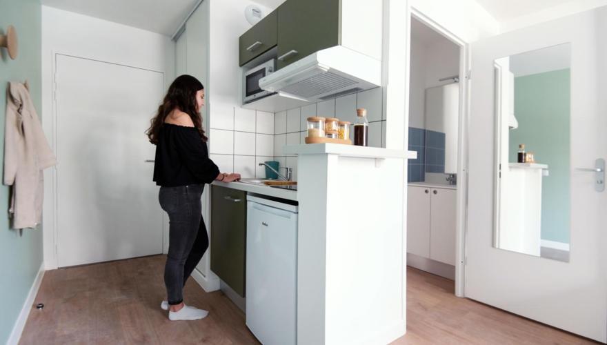 Vue cuisine