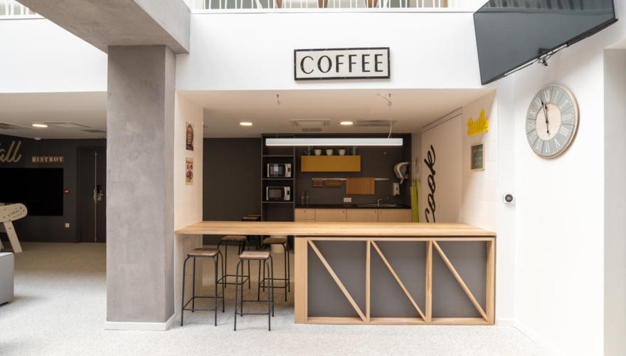 Espace cafétariat