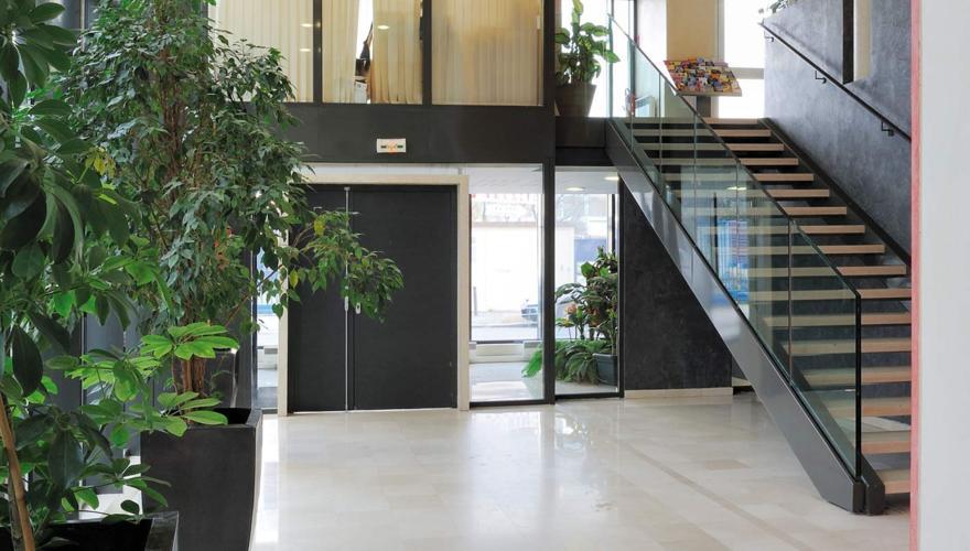 La résidence - Hall d'entrée