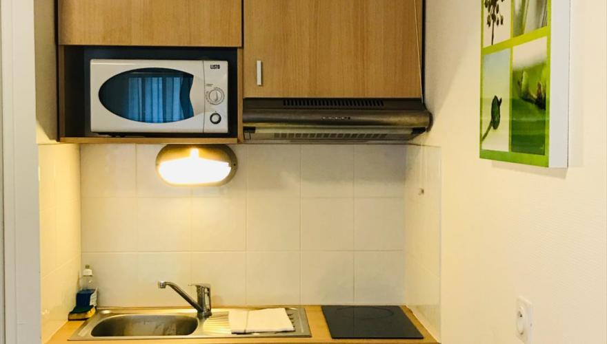 Coin cuisine studio 20m²