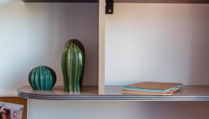 Studio meublé et équipé