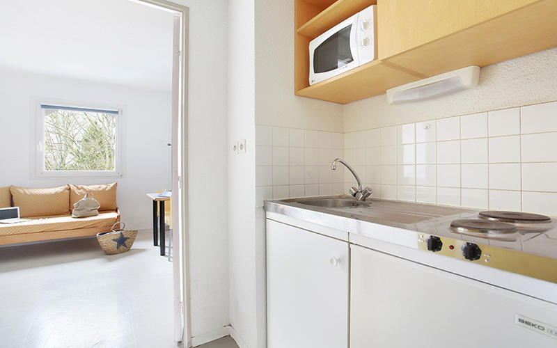 Studio vue Kitchenette