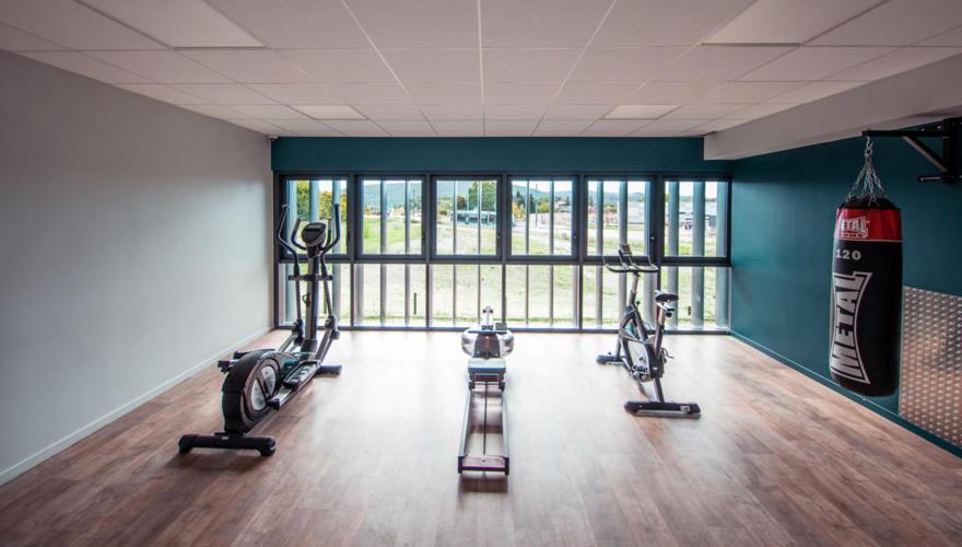 Résidence Cap'Etudes Besançon - salle de fitness